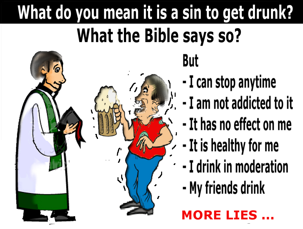Verses In The Bible About Not Drinking Alcohol